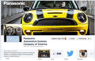 Panasonic Facebook