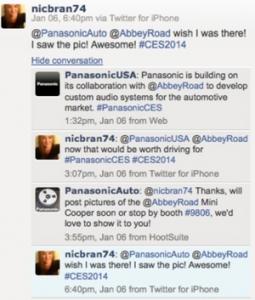 Panasonic Twitter