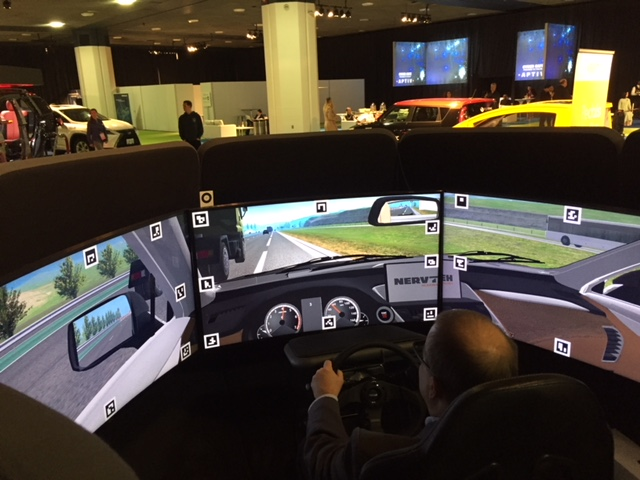 NERVTeh's simulator provides emergency response data for autonomous vehicle technology.